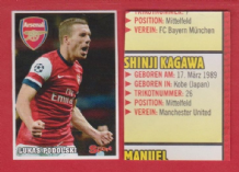 Arsenal Lukas Podolski Germany S1